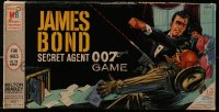 7d032 JAMES BOND board game 1964 Sean Connery in the Secret Agent 007 Game!