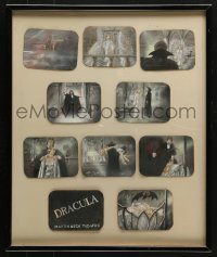 7d056 DRACULA stage play framed art prints 1977 vampire art produced for the Martin Beck Theatre!