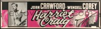 7d072 HARRIET CRAIG paper banner 1950 wonderful romantic art and image of Joan Crawford!