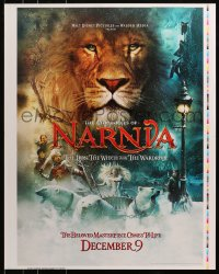 7d052 CHRONICLES OF NARNIA printer's test 23x29 special poster 2005 C.S. Lewis, Henley & Swinton!