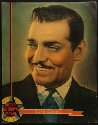 7d004 CLARK GABLE personality poster 1936 head & shoulders portrait of the MGM leading man!