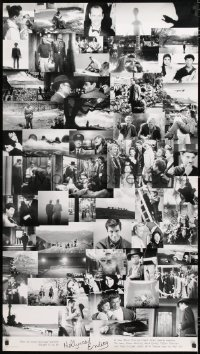 7d085 HOLLYWOOD ENDING 28x50 special poster 2002 Woody Allen, final frames from 52 different movies