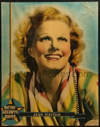 7d003 JEAN HARLOW personality poster 1936 super sexy portrait of the legendary platinum blonde!