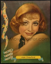 7d005 JOAN CRAWFORD personality poster 1930s wonderful head & shoulders smiling portrait!