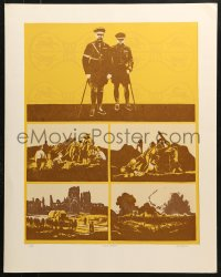 7d059 ROBERT MOESLE signed #14/100 22x28 art print 1980s by the artist, English War Games!