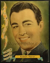 7d008 ROBERT TAYLOR personality poster 1930s head & shoulders portrait of the MGM leading man!