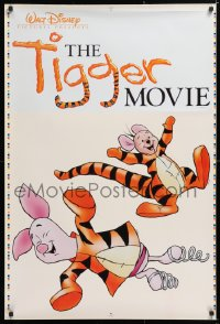 7d082 TIGGER MOVIE group of 4 27x40 static cling posters 2000 Winnie the Pooh, Piglet, Roo, Rabbit!