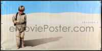 7d114 PHANTOM MENACE vinyl banner 1999 George Lucas, Star Wars Episode I, Anakin w/Vader shadow!