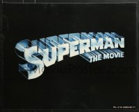 7d066 SUPERMAN 4 color 16x20 stills 1978 DC superhero Christopher Reeve, Brando, York!