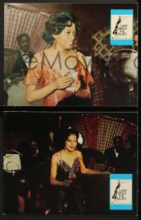 7g055 LADY SINGS THE BLUES 20 German LCs 1973 different images of Diana Ross as Billie Holiday!