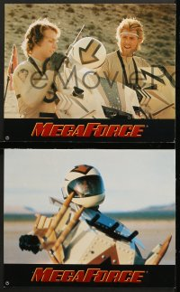 7g062 MEGAFORCE 12 German LCs 1982 super hero Barry Bostwick as Ace Hunter, deeds not words!