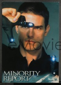 7g071 MINORITY REPORT 8 German LCs 2002 Steven Spielberg, Tom Cruise, Colin Farrell