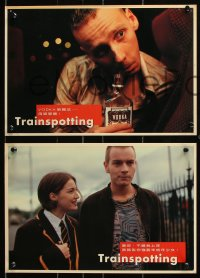 7g016 TRAINSPOTTING 7 Hong Kong LCs 1996 heroin addict Ewan McGregor, directed by Danny Boyle!