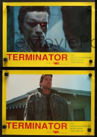 7g022 TERMINATOR 4 South American LCs 1984 most classic cyborg Arnold Schwarzenegger!