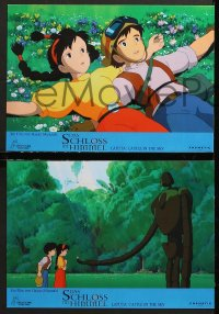 7g029 CASTLE IN THE SKY 5 Swiss LCs 2008 cool Hayao Miyazaki fantasy anime!
