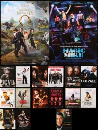 7m370 LOT OF 17 FORMERLY FOLDED 15X21 FRENCH POSTERS 2000s-2010s from a variety of movies!