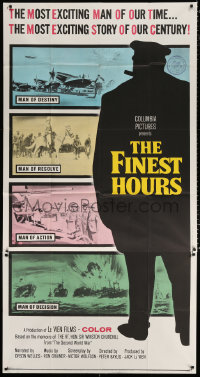 7t221 FINEST HOURS 3sh 1964 Winston Churchill, the century's most exciting man!