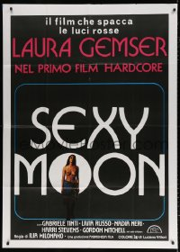 7t787 EMANUELLE QUEEN OF SADOS Italian 1p 1979 sexy topless Laura Gemser, Sexy Moon!