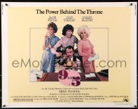 7w005 9 TO 5 1/2sh 1980 Dolly Parton, Jane Fonda & Lily Tomlin w/tied up Dabney Coleman!