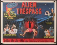 7w014 ALIEN TRESPASS 1/2sh 2009 R.W. Goodwin, Jim Swift, made to look like a poster from 1957!