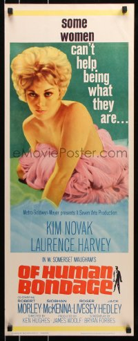 7w881 OF HUMAN BONDAGE insert 1964 super sexy Kim Novak can't help being what she is!
