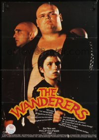 7y047 WANDERERS German 1979 Kaufman New York City teen gang cult classic!