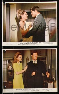 8c015 ASSIGNMENT K 8 color 8x10 stills 1968 great images of Stephen Boyd & sexy Camilla Sparv!