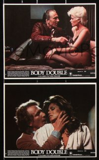 8c056 BODY DOUBLE 7 8x10 mini LCs 1985 Brian De Palma, Craig Wasson, Melanie Griffith!