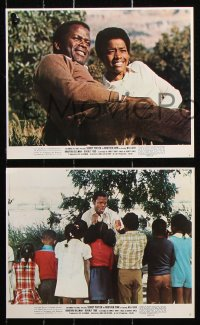 8c007 BROTHER JOHN 10 color 8x10 stills 1971 Sidney Poitier, Will Geer, Bradford Dillman!