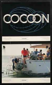 8c021 COCOON 8 color 8x10 stills 1985 Ron Howard classic, Don Ameche, Brimley, Tahnee Welch