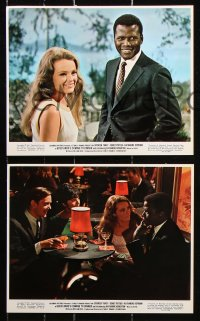 8c006 GUESS WHO'S COMING TO DINNER 11 color 8x10 stills 1967 Sidney Poitier, Spencer Tracy, Hepburn!