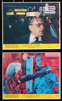 8c025 HARDCORE 8 8x10 mini LCs 1979 George C. Scott, Season Hubley, Peter Boyle!