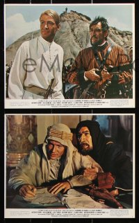 8c001 LAWRENCE OF ARABIA 12 color 8x10 stills R1971 David Lean classic starring Peter O'Toole!