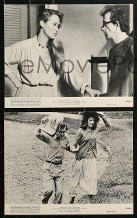 8c063 MANHATTAN 7 8x10 mini LCs 1979 Woody Allen, Diane Keaton, Meryl Streep, New York City!