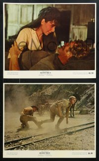 8c034 NEVADA SMITH 8 color 8x10 stills 1966 Steve McQueen in action, Kennedy, Keith, Pleshette!
