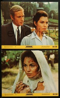 8c038 NUN AT THE CROSSROADS 8 8x10 mini LCs 1969 Encrucijada para una monja, Rosanna Schiaffino!
