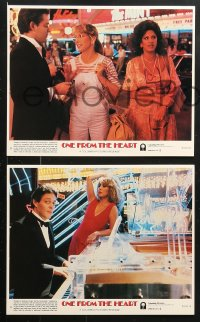 8c040 ONE FROM THE HEART 8 8x10 mini LCs 1982 Coppola, Teri Garr, Raul Julia, Nastassja Kinski!
