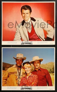 8c044 PLAINSMAN 8 color 8x10 stills 1966 Don Murray, Guy Stockwell & Abby Dalton, Bradford Dillman!