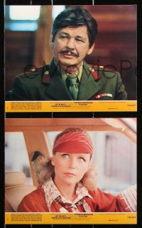 8c070 TELEFON 7 8x10 mini LCs 1977 Charles Bronson, Donald Pleasence, Lee Remick!