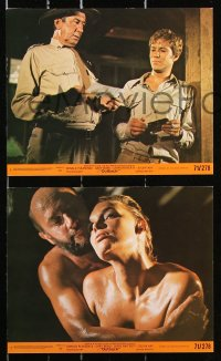 8c051 WAKE IN FRIGHT 8 8x10 mini LCs 1971 Donald Pleasence & Sylvia Kay in tough Australian Outback!