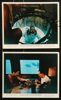 8c010 WORLD WITHOUT SUN 10 color 8x10 stills 1965 Le Monde sans Soleil, Cousteau's oceanauts!