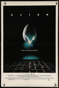 8f030 ALIEN NSS style 1sh 1979 Ridley Scott outer space sci-fi monster classic, cool egg image!