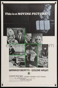 8f001 $ style B int'l 1sh 1971 bank robbers Warren Beatty & Goldie Hawn, bank heist is on!