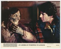 8g001 AMERICAN WEREWOLF IN LONDON 8x10 mini LC #1 1981 David Naughton & deteriorated Griffin Dunne!
