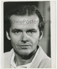 8g063 CHINATOWN 8.25x10 contact enlargement 1974 Jack Nicholson portrait with nose stitches!