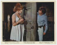 8g012 FEARLESS VAMPIRE KILLERS color 8x10 still 1967 Roman Polanski & sexy Sharon Tate 2-shot!