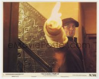8g014 GODFATHER PART II 8x10 mini LC #1 1974 Robert De Niro as Vito w/ gun wrapped in towel!