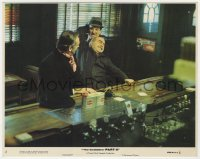 8g015 GODFATHER PART II 8x10 mini LC #2 1974 Michael V. Gazzo & Danny Aiello fighting in bar!