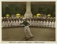 8g024 ROSALIE color 7.5x9.75 still 1937 Eleanor Powell in uniform dancing with West Point cadets!