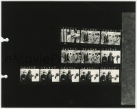 8g060 STAR WARS 8x10 contact sheet 1977 Carrie Fisher caught by Darth Vader & Peter Cushing!
